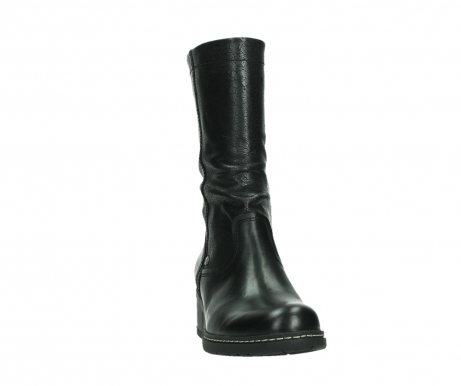 wolky mid calf boots 01261 edmonton 39000 black leather_6