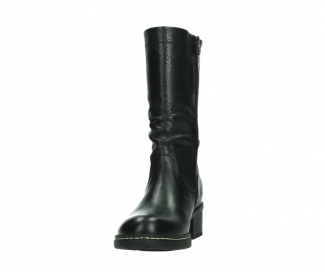 wolky mid calf boots 01261 edmonton 39000 black leather_8
