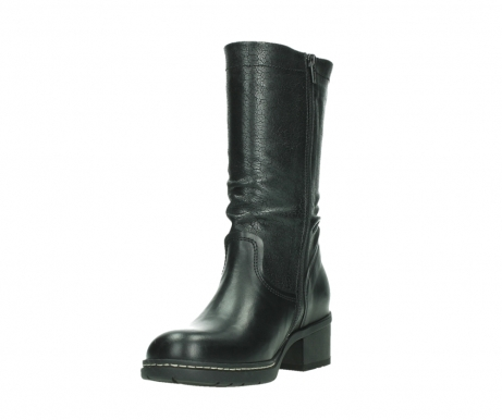 wolky mid calf boots 01261 edmonton 39000 black leather_9