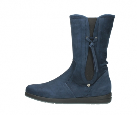 wolky mid calf boots 02424 newton 13800 blue nubuckleather_1