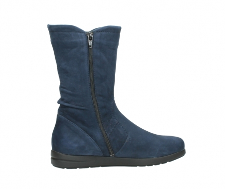 wolky mid calf boots 02424 newton 13800 blue nubuckleather_12