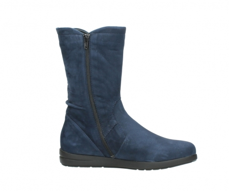 wolky mid calf boots 02424 newton 13800 blue nubuckleather_14