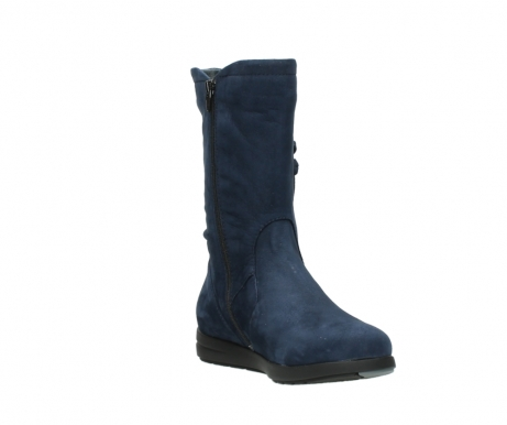 wolky mid calf boots 02424 newton 13800 blue nubuckleather_17