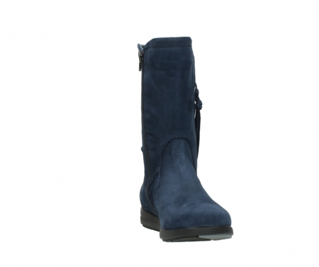 wolky mid calf boots 02424 newton 13800 blue nubuckleather_18