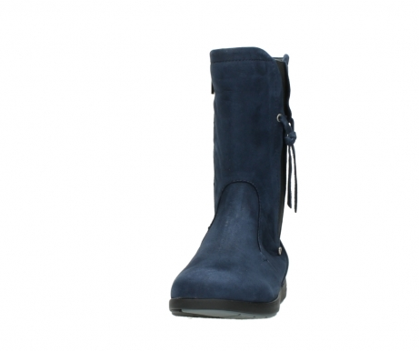 wolky mid calf boots 02424 newton 13800 blue nubuckleather_20