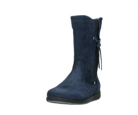wolky mid calf boots 02424 newton 13800 blue nubuckleather_21