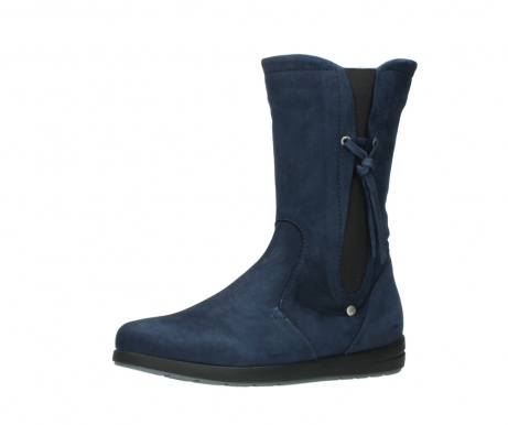 wolky mid calf boots 02424 newton 13800 blue nubuckleather_23