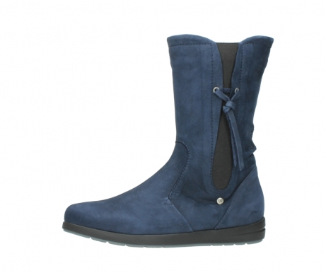 wolky mid calf boots 02424 newton 13800 blue nubuckleather_24