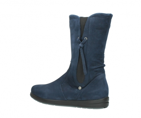 wolky mid calf boots 02424 newton 13800 blue nubuckleather_3