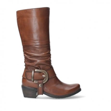wolky long boots 00456 la banda 20430 cognac leather