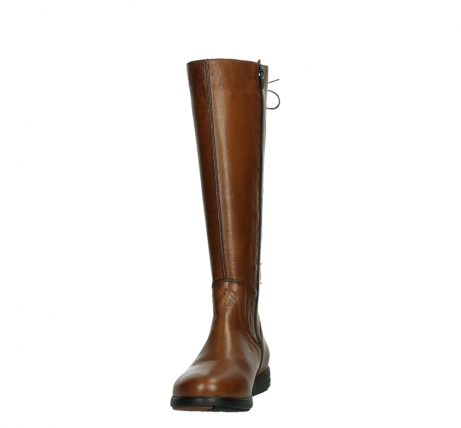 wolky long boots 02426 vector 20430 cognac leather_8