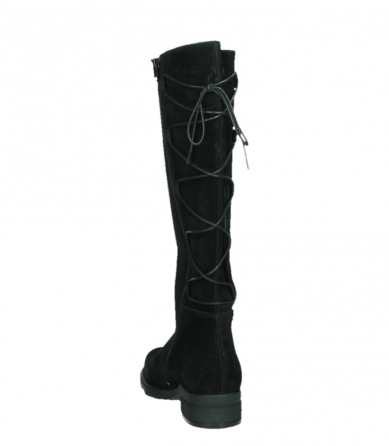 wolky long boots 02633 longview 45000 black suede_18