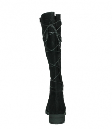 wolky long boots 02633 longview 45000 black suede_19