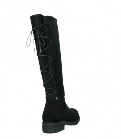 wolky long boots 02633 longview 45000 black suede_21