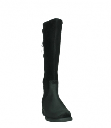 wolky long boots 02633 longview 45000 black suede_6