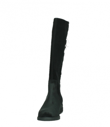 wolky long boots 02633 longview 45000 black suede_8