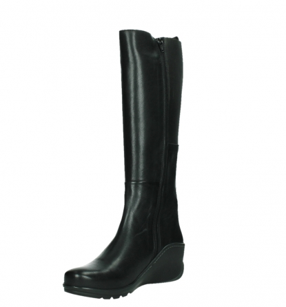 wolky long boots 03877 tanana 30000 black leather_10
