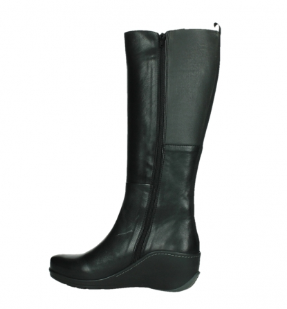 wolky long boots 03877 tanana 30000 black leather_14