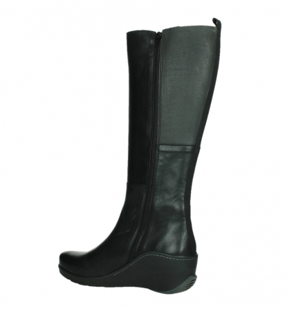 wolky long boots 03877 tanana 30000 black leather_15