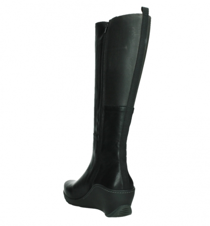wolky long boots 03877 tanana 30000 black leather_17