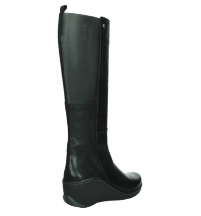 wolky long boots 03877 tanana 30000 black leather_22