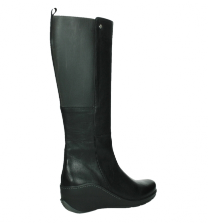 wolky long boots 03877 tanana 30000 black leather_23