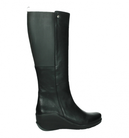 wolky long boots 03877 tanana 30000 black leather_24