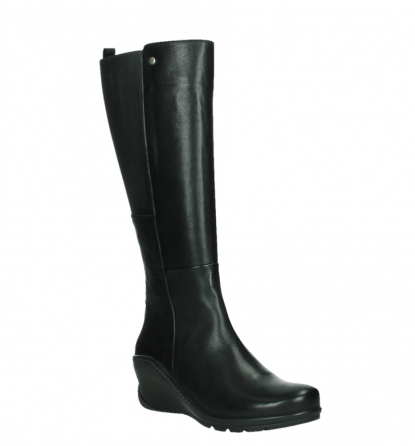 wolky long boots 03877 tanana 30000 black leather_4