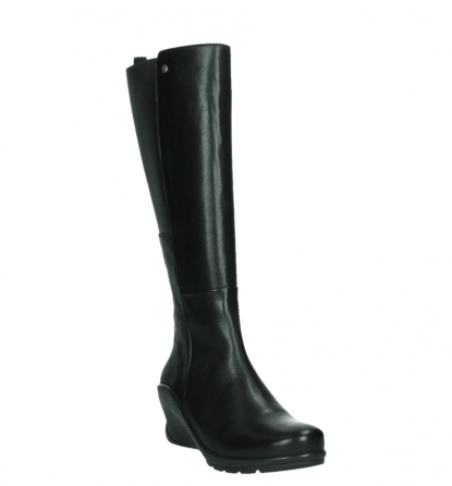 wolky long boots 03877 tanana 30000 black leather_5