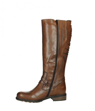 wolky long boots 04433 belmore 20430 cognac leather_12