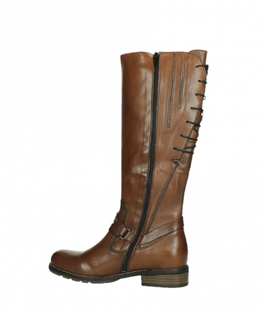 wolky long boots 04433 belmore 20430 cognac leather_14