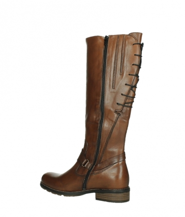 wolky long boots 04433 belmore 20430 cognac leather_15