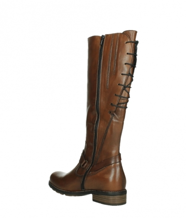 wolky long boots 04433 belmore 20430 cognac leather_16