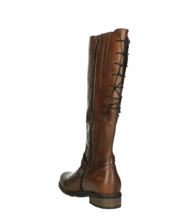 wolky long boots 04433 belmore 20430 cognac leather_17