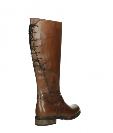 wolky long boots 04433 belmore 20430 cognac leather_22