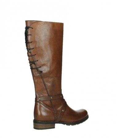 wolky long boots 04433 belmore 20430 cognac leather_23