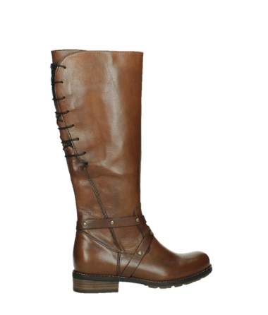 wolky long boots 04433 belmore 20430 cognac leather_24