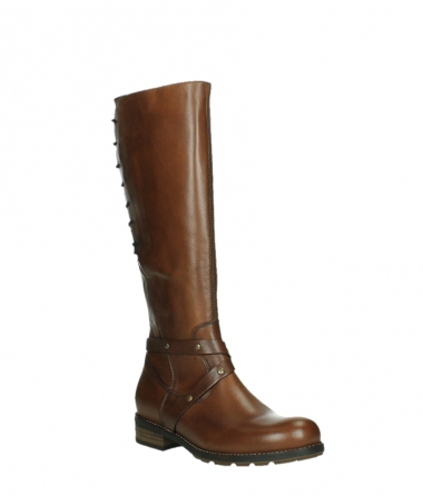 wolky long boots 04433 belmore 20430 cognac leather_4