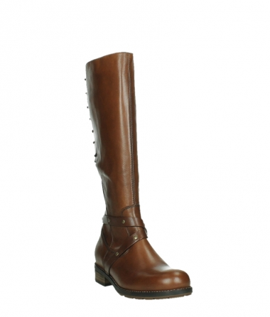 wolky long boots 04433 belmore 20430 cognac leather_5