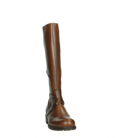 wolky long boots 04433 belmore 20430 cognac leather_6