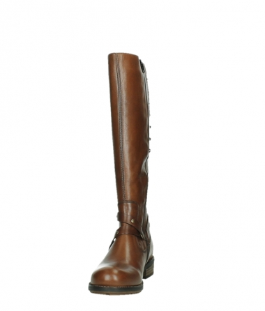 wolky long boots 04433 belmore 20430 cognac leather_8