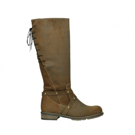 wolky long boots 04433 belmore 45410 tobacco suede