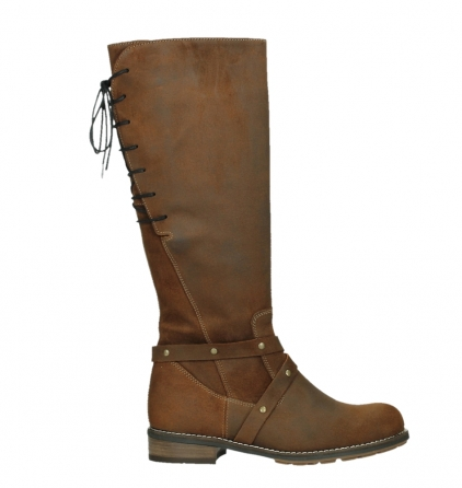 wolky long boots 04433 belmore 45410 tobacco suede_1