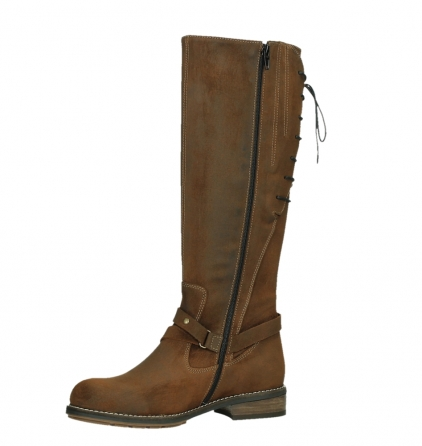 wolky long boots 04433 belmore 45410 tobacco suede_11