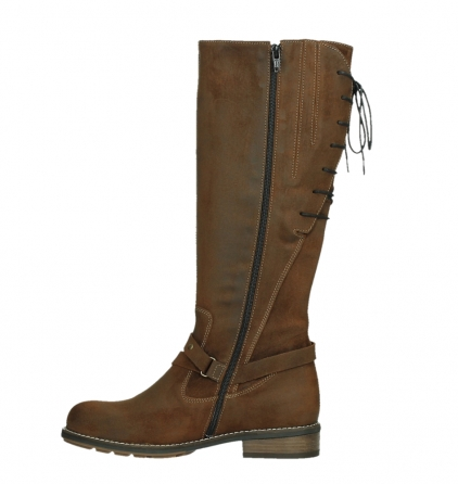 wolky long boots 04433 belmore 45410 tobacco suede_13