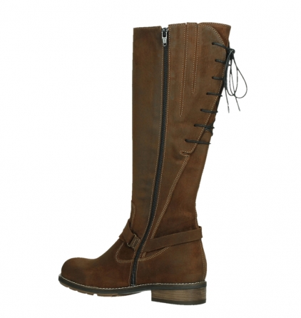 wolky long boots 04433 belmore 45410 tobacco suede_15