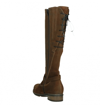 wolky long boots 04433 belmore 45410 tobacco suede_17