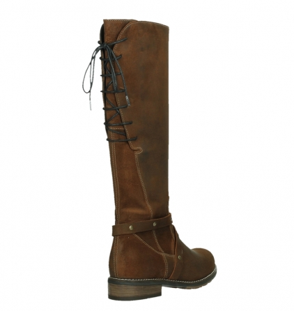 wolky long boots 04433 belmore 45410 tobacco suede_21