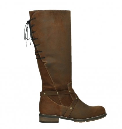 wolky long boots 04433 belmore 45410 tobacco suede_24