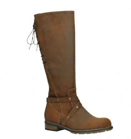 wolky long boots 04433 belmore 45410 tobacco suede_3